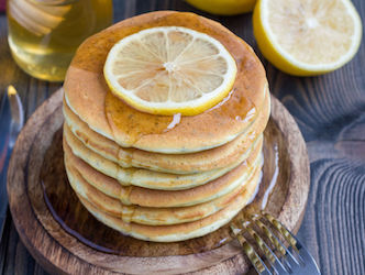 Secret Weapon Fluffy Citrus Pancakes