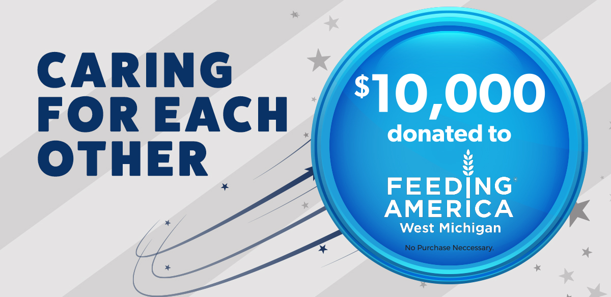 10,000 donated to Feeding West Mighigan
