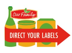 Our Family brand Direct Your Labels program