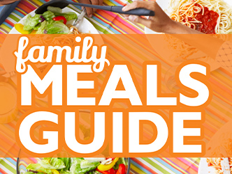 Family Meals Month Text