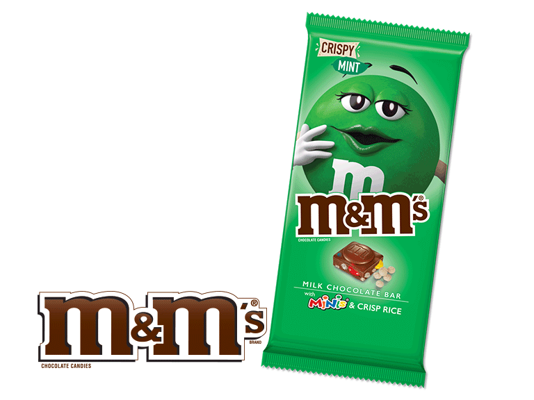 Try the new M&M Tablets in 5 delicious flavors including crispy, peanut, almond and more!