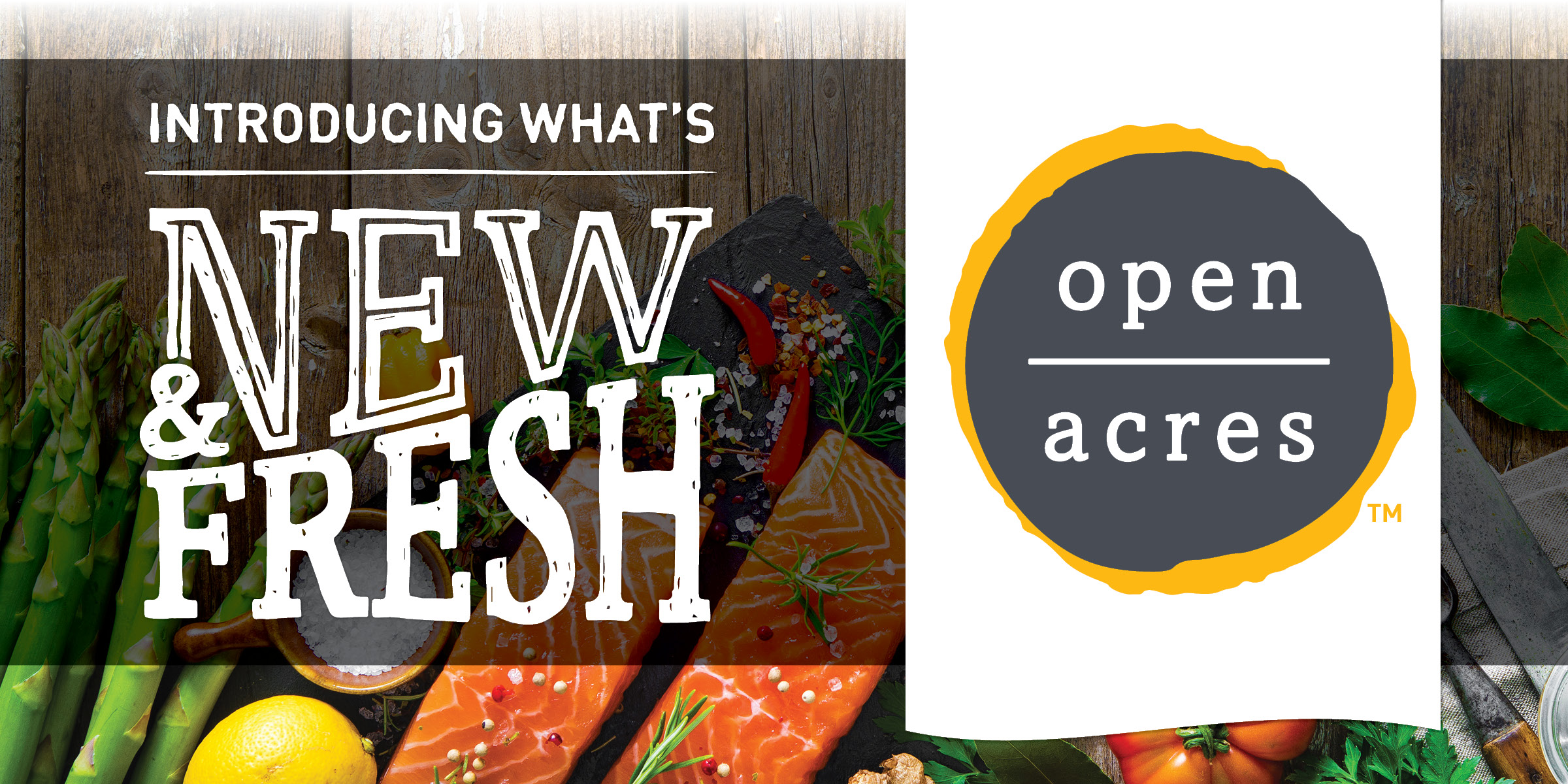 Open Acres brand private label grocery products
