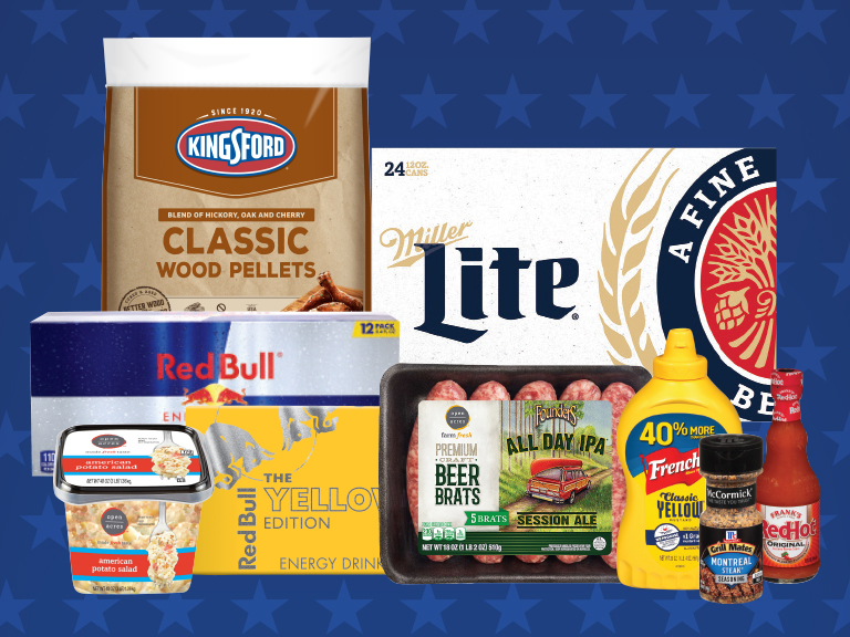 Save on these grilling favorites with yes Rewards!