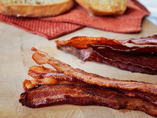 What's better than Bacon? MORE bacon! Thick cut bacon is used for this better BLT recipe.