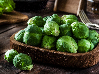 Delicious Brussels Sprouts are in season now!