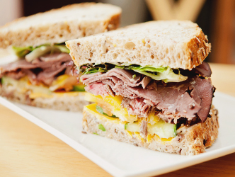 Deli foods ready and on demand for your next lunch or party.