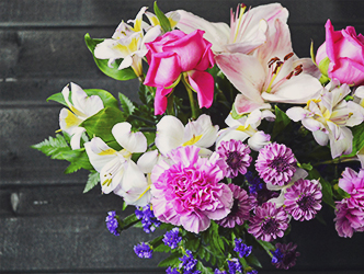 A beautiful bouquet can make any day special.
