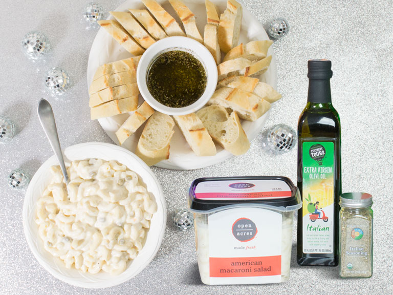 open acres macaroni salad culinary tours oil and full circle spices