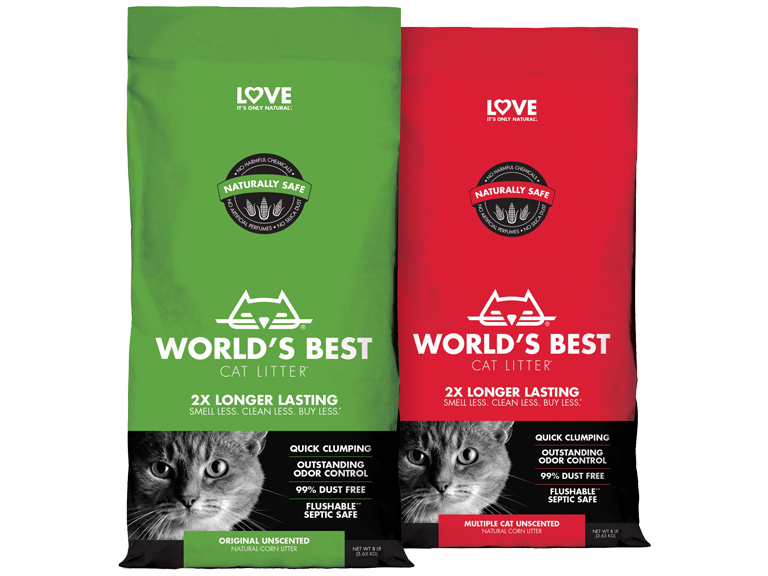 NEW Item! Worlds Best brand cat litter available now!